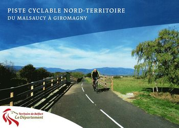 Piste cyclable Nord Territoire